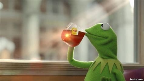 Kermit Meme Generator - kermit tea frog meme generator captionator caption