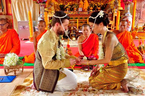 Wedding Blessing Rituals by Buddhist Blessing Ceremony Package 002 Phuket Thailand