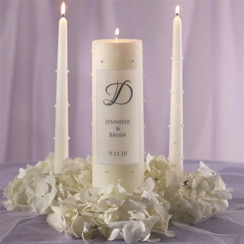 wedding candles pearl wedding unity candle wedding unity candle