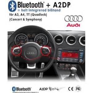 Audi Symphony 2 Bluetooth Bluetooth Mobiltelefon System Till Audi A3 A4