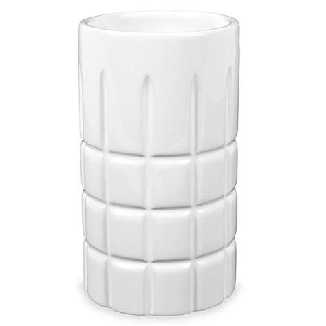 tumbler for bathroom hotel ceramic bathroom tumbler bed bath beyond