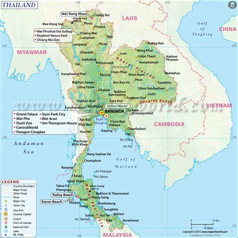 map thailand thailand map thailand asia square