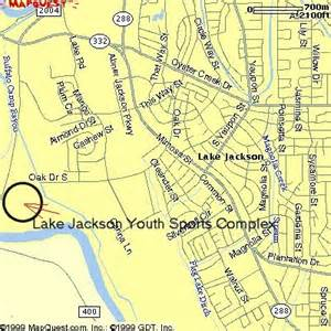lake jackson youth sports complex map