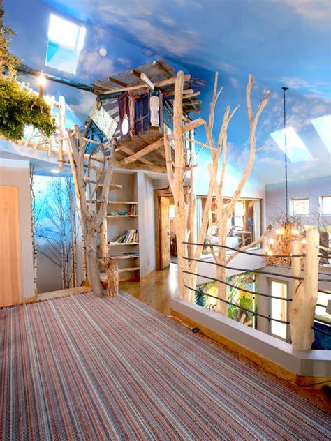 three room home design news indoor tree nature inspired green home interior design