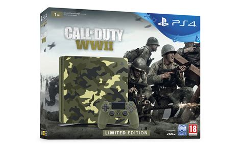 Kaset Ps4 Call Of Duty Wwii introducing the limited edition call of duty wwii ps4 bundle playstation europe