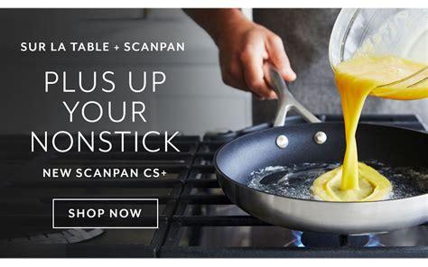 sur la table scanpan cookware cutlery dinnerware bakeware sur la table