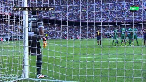 Levante Years 2 la liga fc barcelona vs levante 1er tiempo 18 8 2013