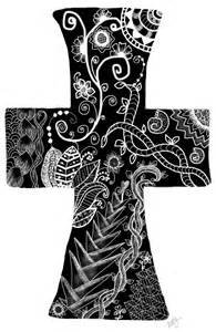 doodle religion 38 best images about zentangle crosses on