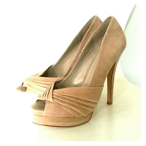 High Heels Aldo Original 25 70 aldo shoes aldo suede stiletto peep toe