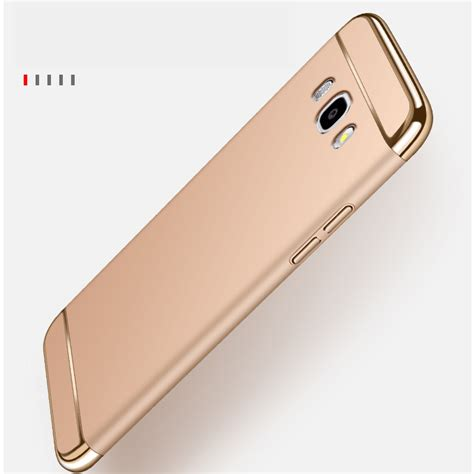 Casing Samsung J7 2016 Note Custom Hardcase for samsung galaxy j3 j5 j7 prime 2016 2015 luxury royal gold metal plating cover
