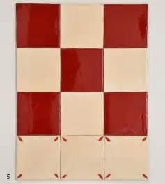 Supérieur Carrelage Mural Blanc 15x15 #1: carrelage-15x15-damier-rouge-822-et-beige-206-decor-pA-tales-en-angle.jpg