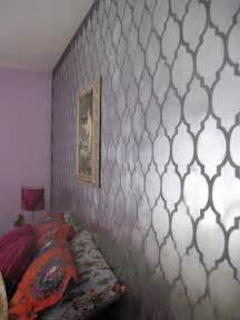 Wall Paint Patterns Cutting Edge Stencils Don T Be A Bore Use Metallic Wall