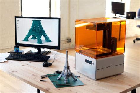 kickstart design form 1 form 1 delivers high end 3d printing for an affordable