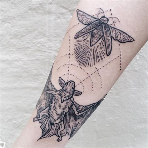 hunting bat tattoo best tattoo ideas gallery