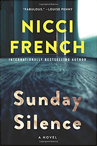 sunday silence a novel a frieda klein novel books review sunday silence by nicci escape reality
