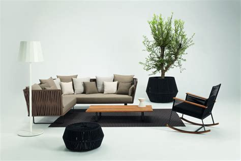 furniture interior bitta modern patio furniture by rodolfo dordoni