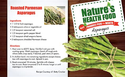 Brookshirebrothers Com Sweepstakes - nature s health food asparagus brookshire brothers