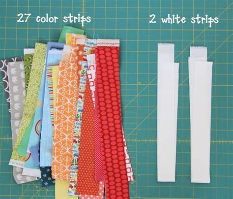 Cutting Strips For Quilting by And Flip Baby Quilt Cluck Cluck Sew