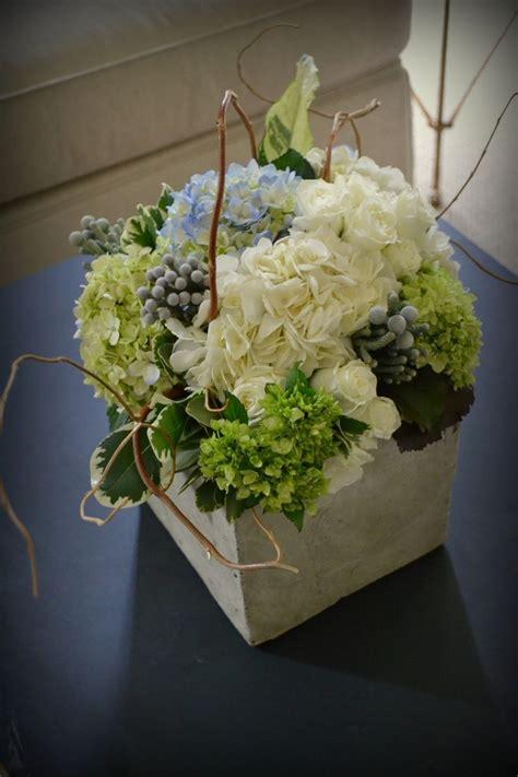 se and hydrangea centerpiece picmia