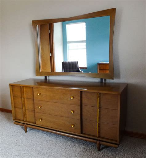 mid century modern bedroom furniture mid century modern bedroom set dresser chest nightstand kent coffey collectors weekly