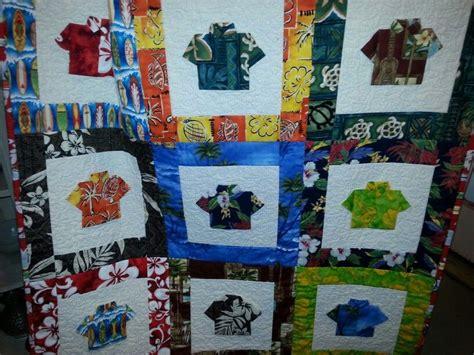 quilt pattern hawaiian shirts hawaiian shirt quilt arts crafts diy gifts pinterest