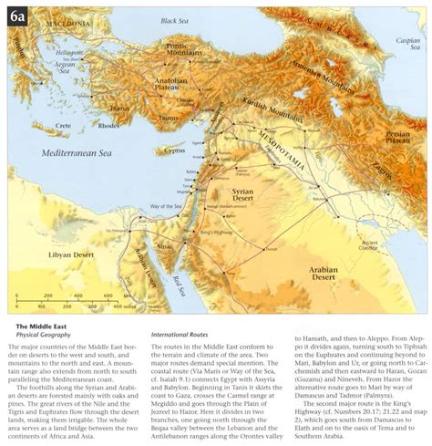 middle east map testament 006a geography and traderoutes of middleeast 006a jpg