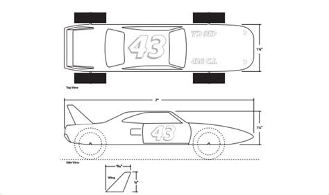 pinewood derby race car templates pinewood derby templates pdf gallery template design ideas