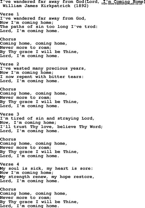 pics for gt im coming home lyrics