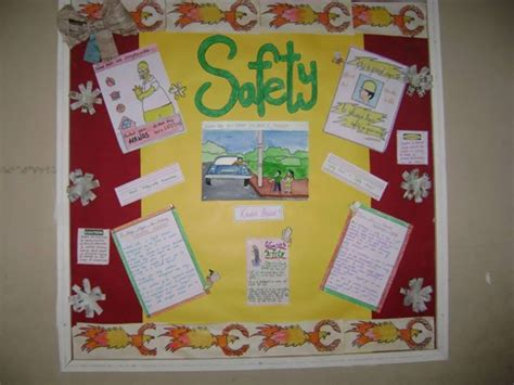 Soft Board Decoration by Senior School Activities Inter House Soft Board