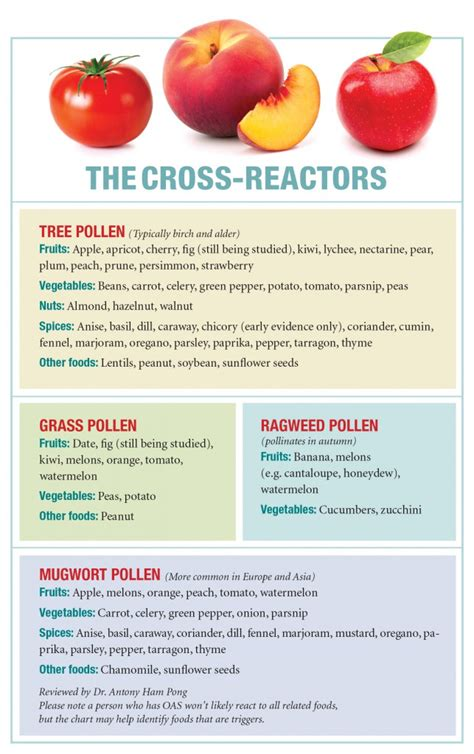 allergy why fruit can make the - Tree Fruit Allergy List