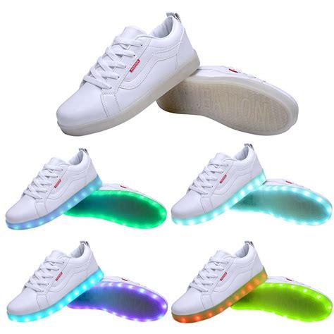 sport light up shoes usb charging led light up sport shoes