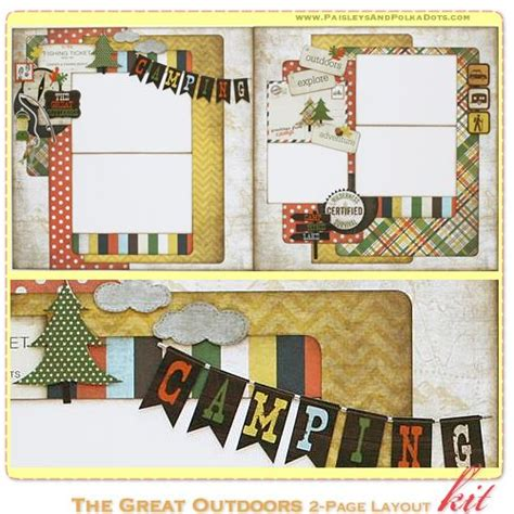 7 Great Scrapbooking by The Great Outdoors Scrapbook Kit And Outdoors On