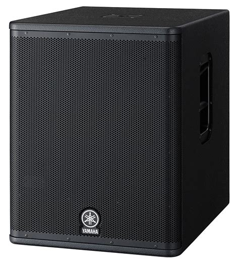 Speaker Subwoofer Yamaha musicworks p a powered speakers sub woofer powered