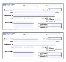 template for receipt 7 general receipt templates free sles exles