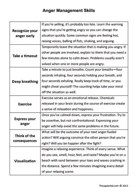Anger Management Worksheets For Adults by 25 Best Ideas About Anger Management On What