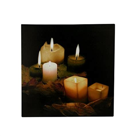flickering light canvas wholesale led lighted flickering and leaves canvas wall art