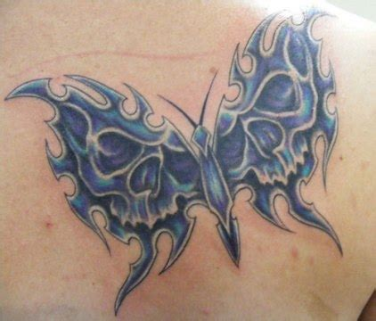 tattoo butterfly and skull 50 and more butterfly tattoos with meanings fmag