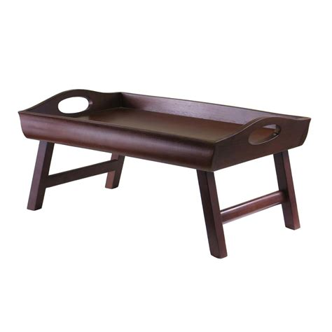 bed tray walmart bed tray winsome 94725 bed tray winsome wood this sedona
