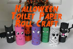 How To Make Halloween Decorations With Paper Diy Halloween Decorations Recycled Toilet Paper Roll