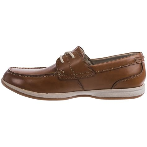 clarks boat shoes clarks fallston style boat shoes for save 44
