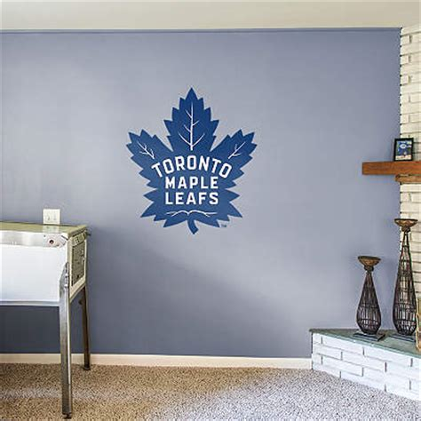wall stickers toronto shop toronto maple leafs wall decals graphics fathead nhl