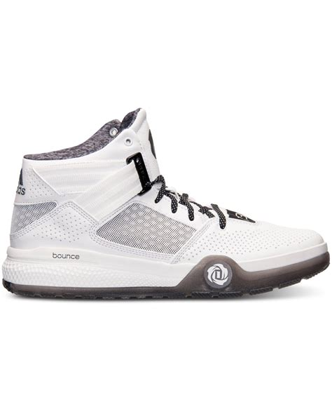 lyst adidas s d 773 iv basketball sneakers from finish line in white for
