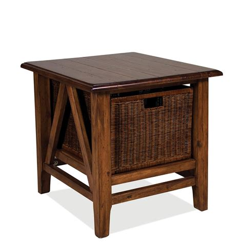 Riverside Living Room Rectangle End Table 79509 Furnitureland Delmar Delaware