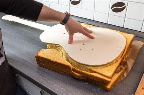 gitarren kuchen rezept und anleitung f 252 r eine gitarren torte in