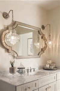 bathroom vanity mirror and light ideas coastal home with neutral interiors home bunch