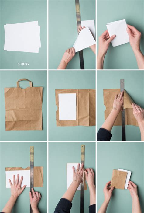 How To Make Paper Notebook - 5 minute bookbinding the house that lars built