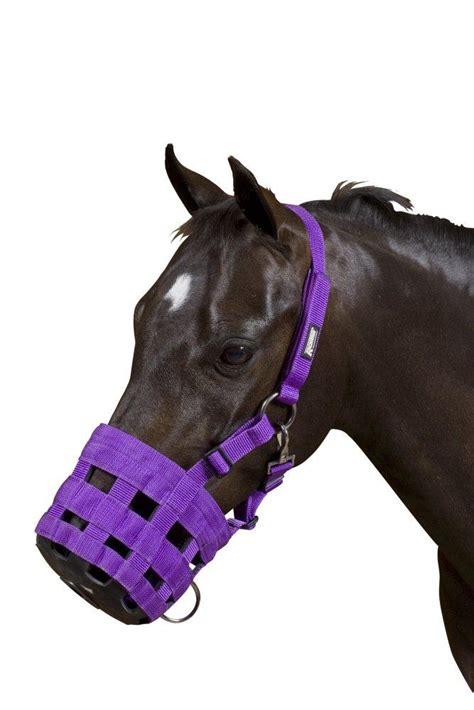 comfort muzzle comfort grazing muzzle soft horse muzzle padded grass