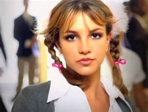 Breaking Britneys Out With New Style Told You by S Pigtails Channel Quot Baby One More Time