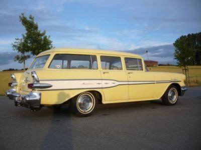 1957 Pontiac Station Wagon 1957 Pontiac Chieftain Station Wagon Mellow Yellow