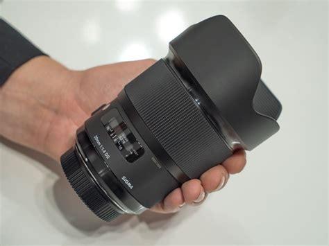 Sigma 20mm 1 4 sigma 20mm f 1 4 dg hsm lens images at photoplus 2015